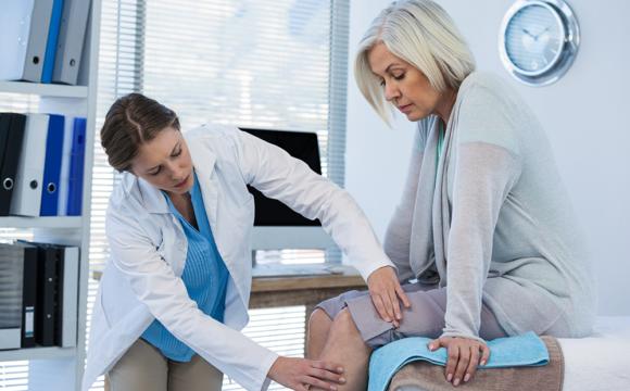 Knieprothese, künstliches Kniegelenk
